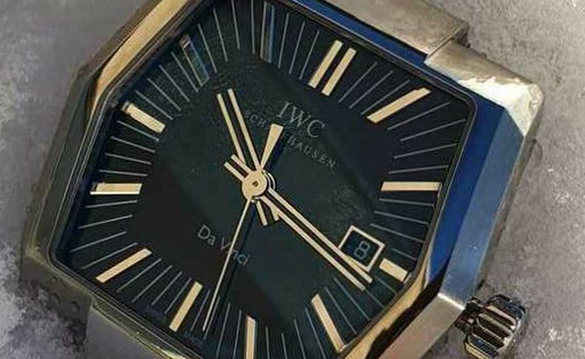 Servicing, case repair and make-up of an IWC Da Vinci for second-hand sale with guarantee