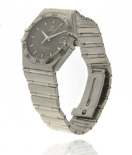 Omega Constellation Date Khaki dial